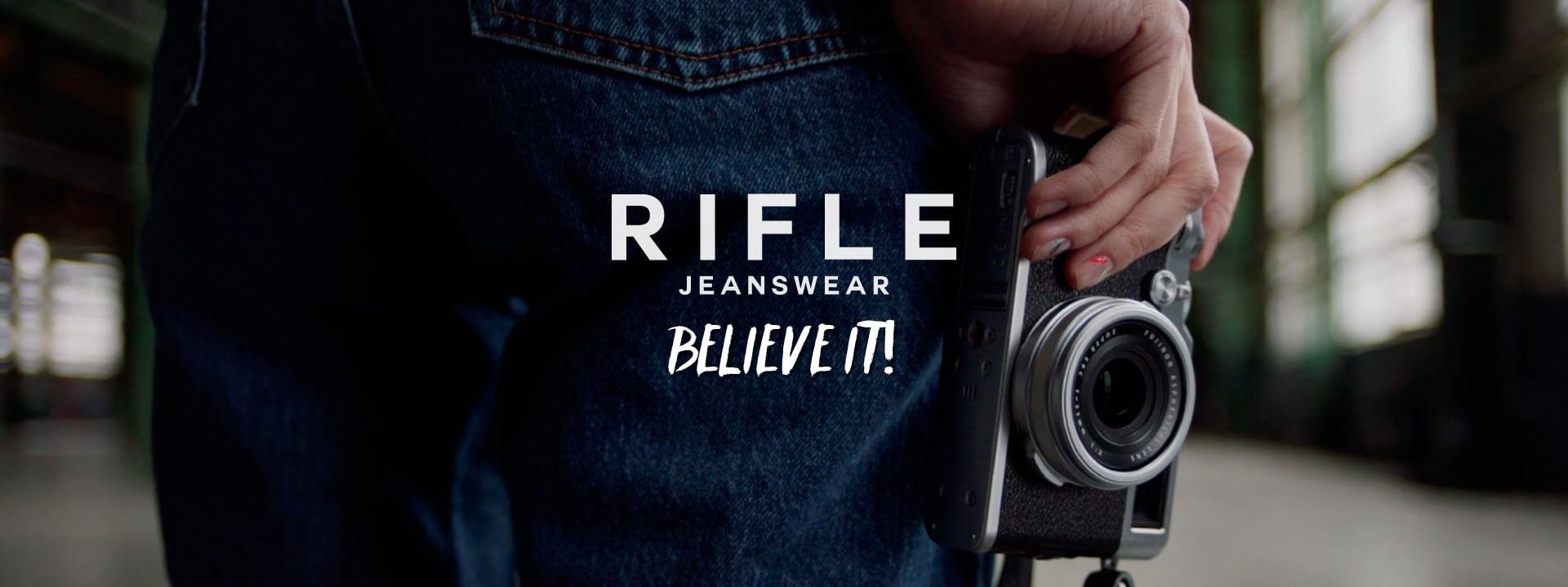 Rifle JeansWear - Believe it
